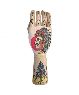Hand Painted Native Indian...