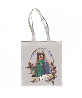 Adopt a pet Dustin tote bag...