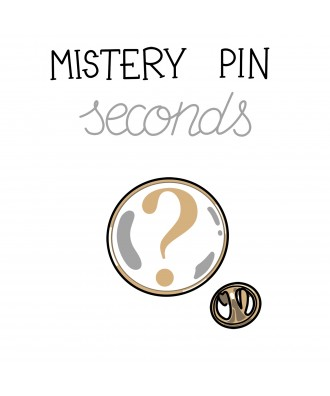 Mistery pin seconds sale