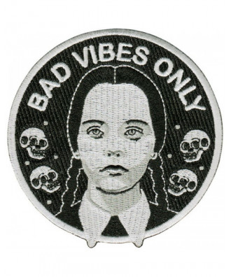 Bad Vibes Only patch by la...