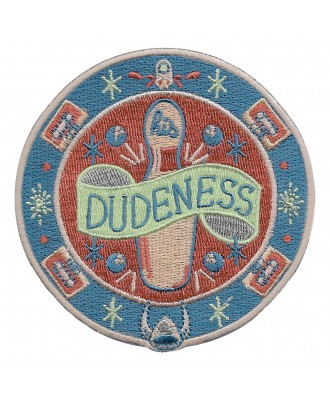 His Dudeness rug patch by...