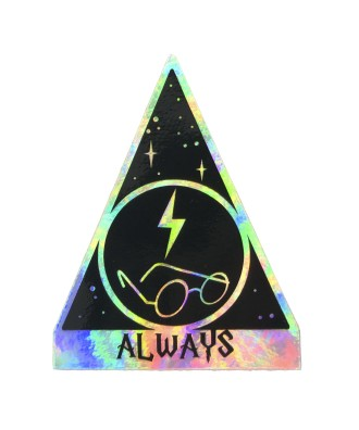 Always holographic sticker...