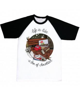 Camiseta Forrest La vida es...