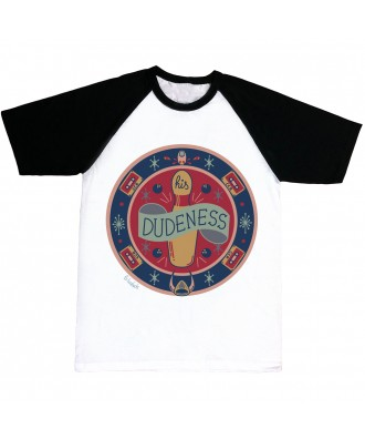 His dudeness Rug T-shirt by...