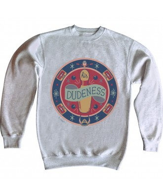 His Dudeness Rug sweatshirt...