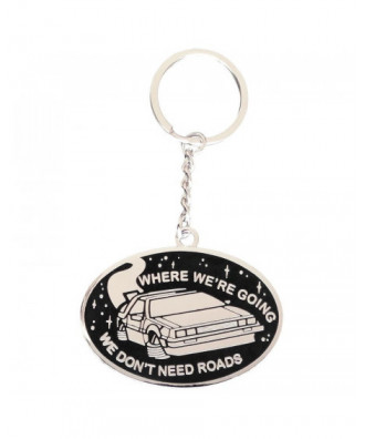 DeLorean keychain by la...