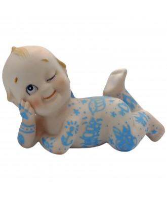 Kewpie cerámica pintado a...