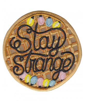 Stay Strange patch by la...
