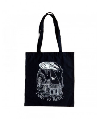 I want to believe tote bag...