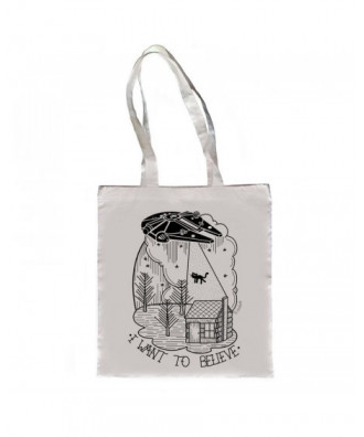 Bolso I want to Believe blanco