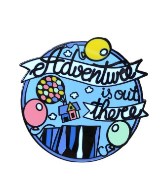 Adventure is out there pin...
