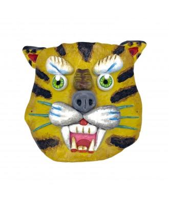 Máscara de arcilla tigre
