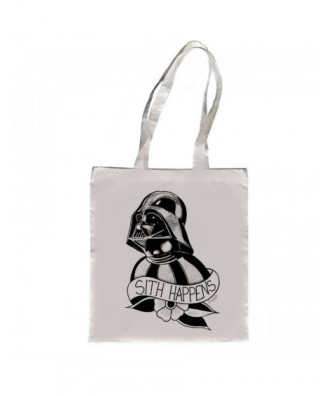 Sith Happens tote bag by la...