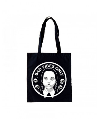Bad Vibes Only tote bag by...