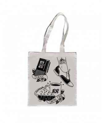 Fire walk with me tote bag...