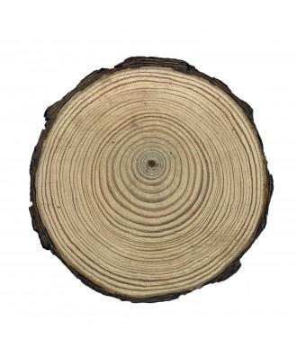 Rodaja de madera personalizada