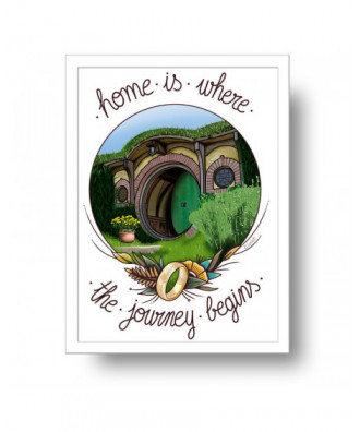 Home is where the journey...