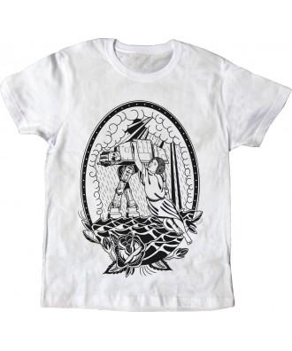 Camiseta blanca Princesa...