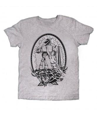 Camiseta gris Princesa Rock...