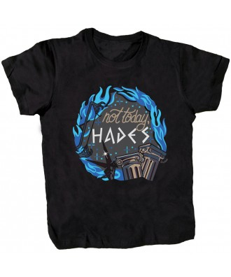 Camiseta negra Not Today Hades