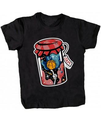 Camiseta negra Jam