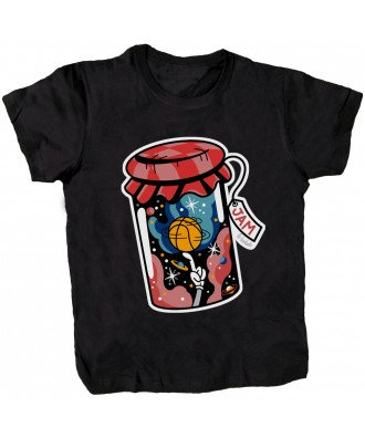 Jam black T-shirt by la...