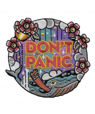 Parche Don't Panic Ballena 42