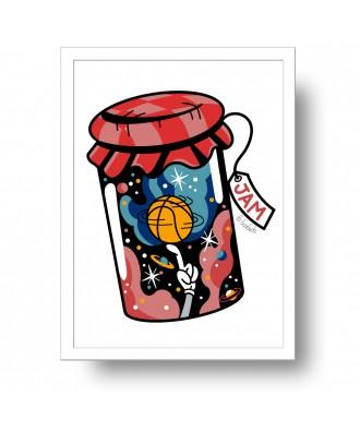 Jam print by la barbuda