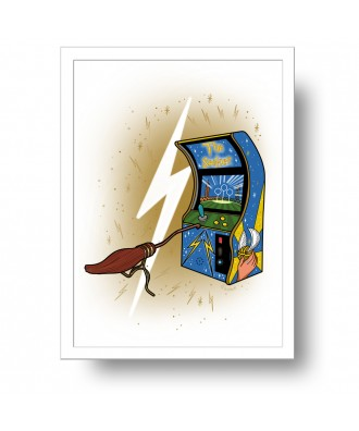 Arcade The Seeker print by...