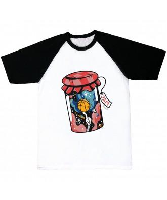 Camiseta mangas negras Jam