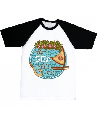 Camiseta mangas The Sea...