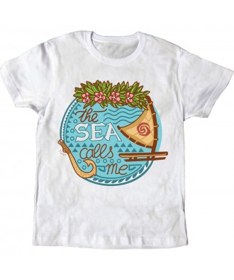 Camiseta blanca The Sea...