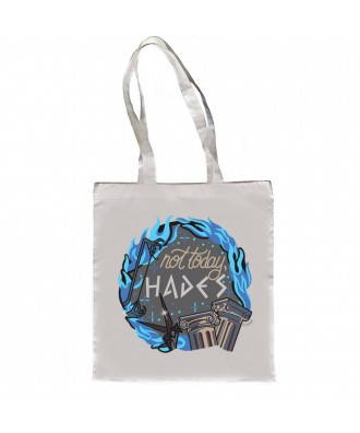 Not today, Hades tote bag...