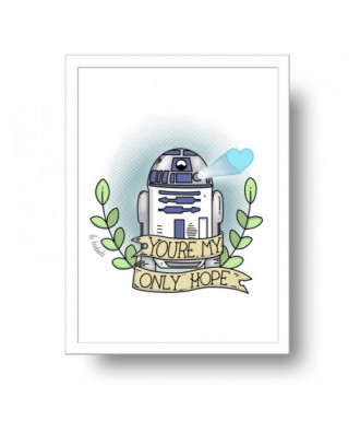 You are my only hope print...