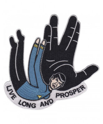 Parche Live Long and Prosper
