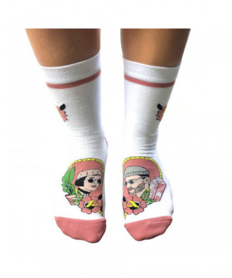 Leon and Mathilda socks by...