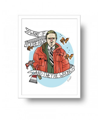 Fargo print by la barbuda