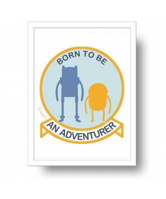 Lámina Born to be an...