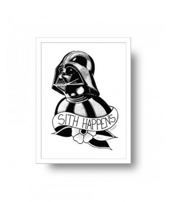 Sith Happens print by la...