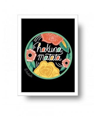 Hakuna Matata print by la...