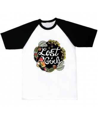 Camiseta mangas negras Lost...