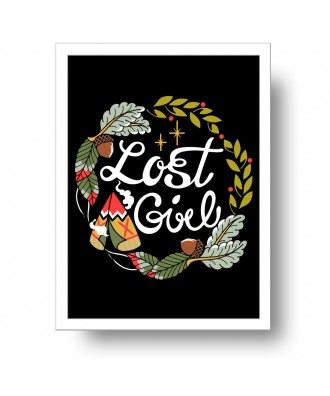 Lost Girl print by la barbuda