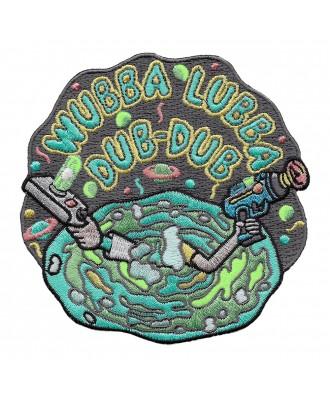 Parche Wubba Lubba Dub-Dub