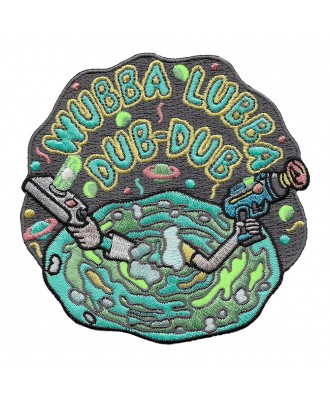 Wubba Lubba Dub-Dub patch...