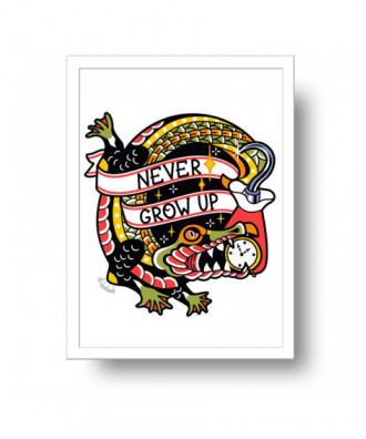 Never Grow Up Hook and...