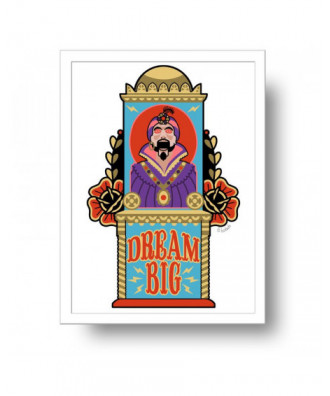 Zoltar Dream Big print by...