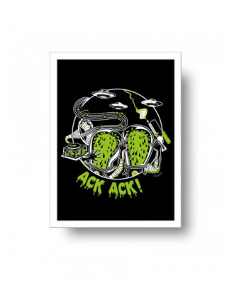 Ack Ack print by la barbuda