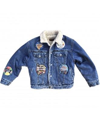 Vintage Denim Jacket with...
