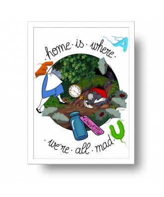 Home is where we're all mad...