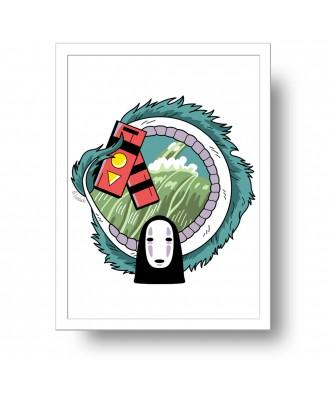 Chihiro dragon print by la...